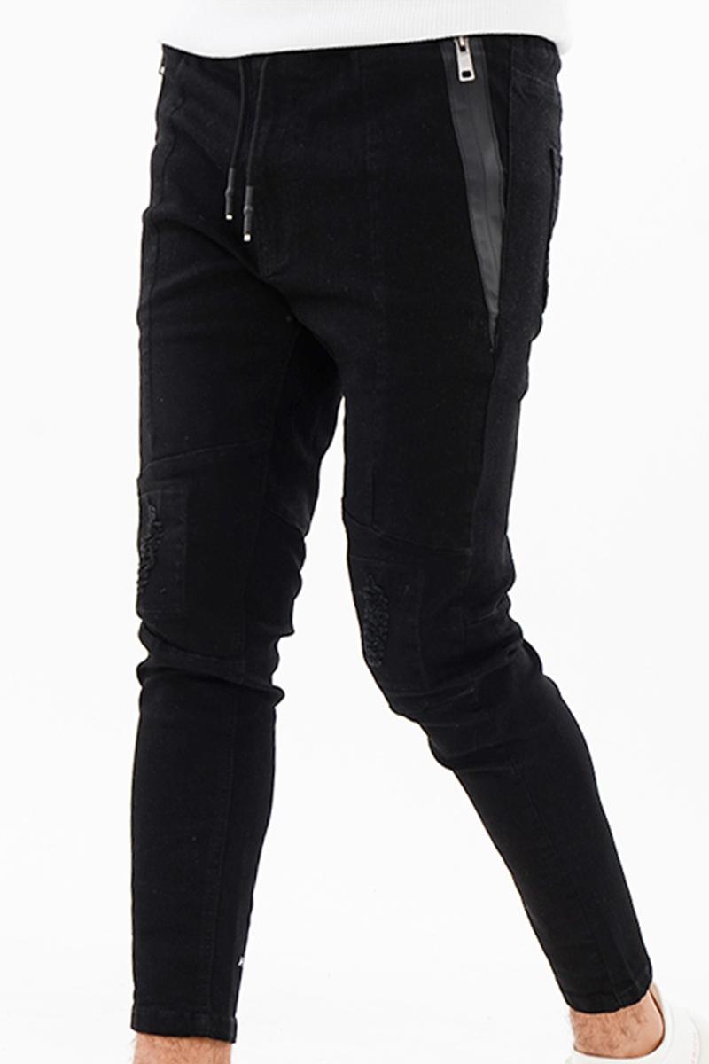 [ARMYRICH]ダメージ加工スキニーパンツ セットアップ、メンズ、ファッション、通販、30代、40代